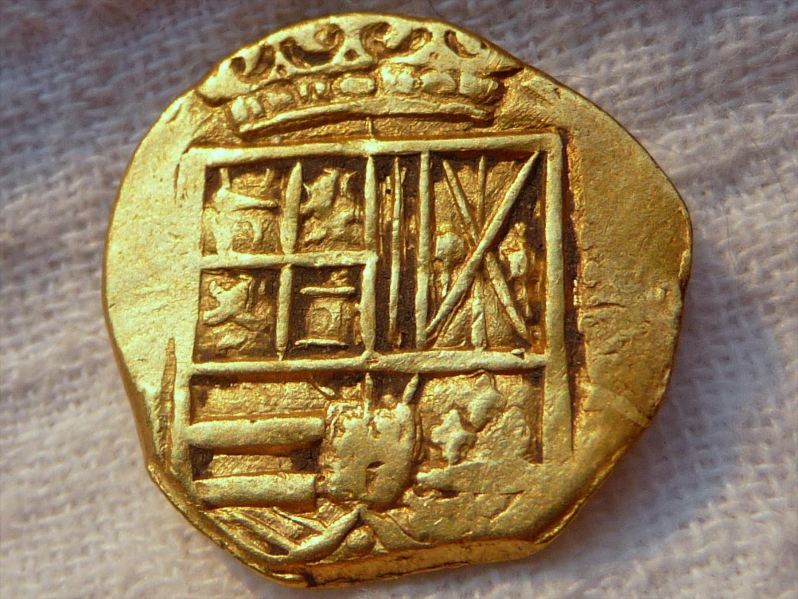 2 esducos de Felipe IV. Nuevo Reino 2E-XXX-A